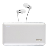 L8000 PowerPack + BONUS Uptown 200 Series White Headphones