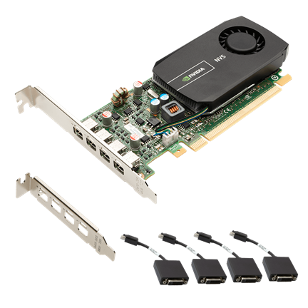 NVIDIA NVS 510 for Quad DVI Low Profile Group