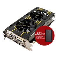 GTX 960 2GB OC Graphics Card with a gift of a 7800mAh PowerPack