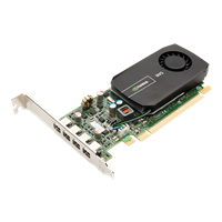 NVIDIA NVS 510 for Quad DVI Low Profile Right Angle