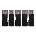 Attaché 3 USB 2.0 Flash Drive 5-Pack