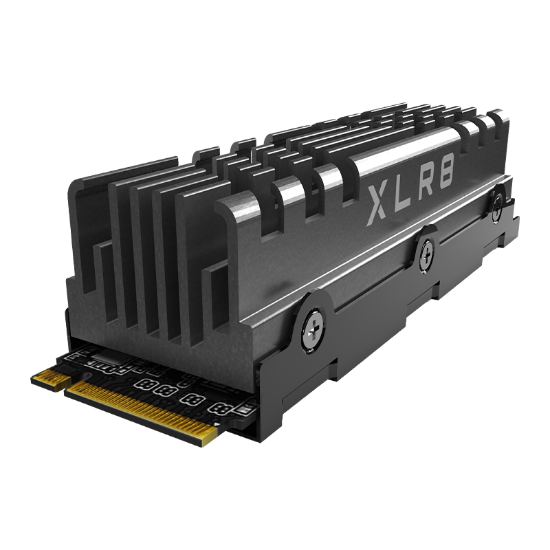XLR8 CS3140 M.2 NVMe PCIe Gen4 x4 SSD with Heatsink