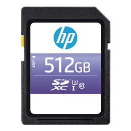 HP sx330 Class 10 U3 SD Flash Memory Card
